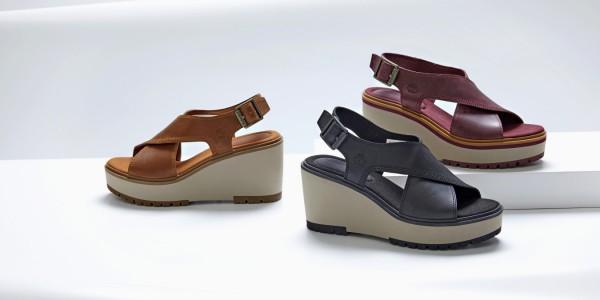 Нови силуети и модерни сандали за пролетно-летния сезон от Timberland