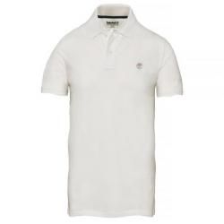 Мъжка тениска Merrymeeting River Polo Shirt White