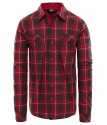 Мъжка риза M L/S Lodge Shirt RUMBA RED PLAID