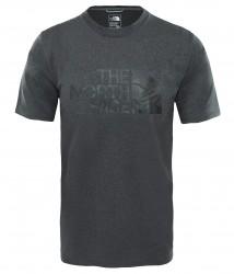 Мъжка тениска M MA GR REAX AMP CR D GREY H-CAM P