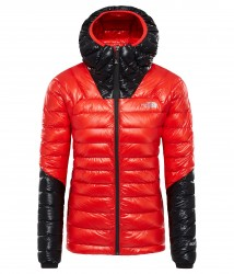 Дамско яке W SMT L3 DOWN HD FIERY RED/TNF B