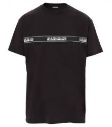 Мъжка тениска SAGAR BLACK