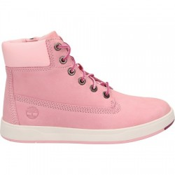 Юношески обувки Timberland Davis Square 6-inch Boot in Pink