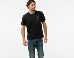 Мъжка тениска Smartwool M App - MERINO 150 DMNDTEE in Black