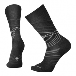 Мъжки чорапи Men's High Crest Crew Socks in Charcoal