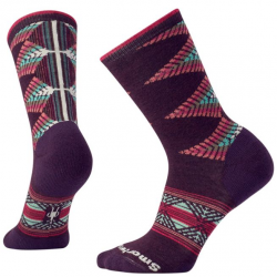 Дамски чорапи Women's Tiva Crew Socks in Bordeaux