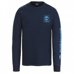 Мъжко горнище Long-Sleeve Logo Top for Men in Navy