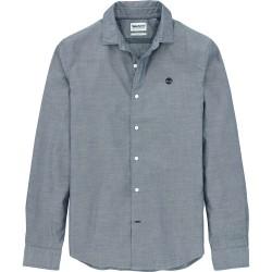 Мъжка риза TIMBERLAND LS TIOGA RIVER TEXTURED SHIRT in Blue