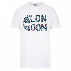 Мъжка тениска City T-Shirt for Men in White