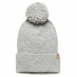 Дамска шапка Brushed Pom-Pom Beanie for Women in Grey