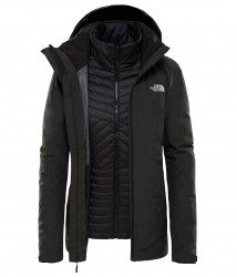 Дамско яке W INLUX TRICLIMATE TNF BLACK HEATH