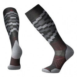 Мъжки чорапи Men's PhD® Ski Light Elite Pattern Socks in Charcoal