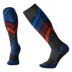 Мъжки чорапи Men's PhD® Ski Medium Pattern Socks in Charcoal