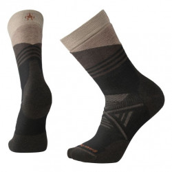 Мъжки чорапи Men's PhD® Outdoor Medium Pattern Crew Socks in Black