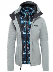 80026d6a55b Дамско яке W ThermoBall Triclimate Jacket in LIGHT GREY. The North Face