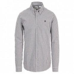 Мъжка риза Suncook River Gingham Shirt for Men in Grey