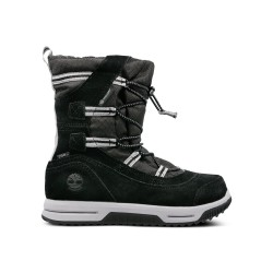 Юношески ботуши TIMBERLAND SNOW STOMPER PULL ON in Black