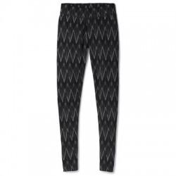 Дамско термо бельо Women's Merino 250 Baselayer Pattern Bottom in Black-Charcoal