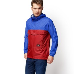 Мъжко яке Mount Bond Raincoat for Men in Blue/Red