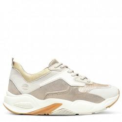 Дамски маратонки Delphiville Leather Sneaker for Women in Gold
