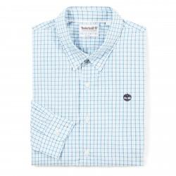 Мъжка риза Suncook River Gingham Shirt for Men in Light Blue