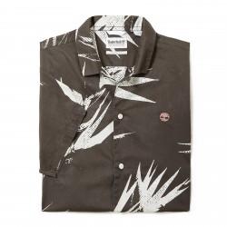 Мъжка риза Suncook River Print Shirt for Men in Dark Green