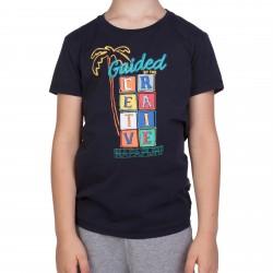Детска тениска K SIRIX BLU MARINE