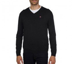 Мъжки пуловер DECATUR V 1 BLACK