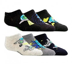 Детски чорапи 6pk Boys Non Terry Low Cut