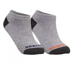 Детски чорапи 6PK BOYS FULL TERRY NO SHOW GRY