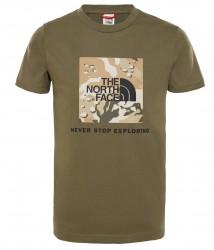 Детска тениска Y BOX S/S TEE NWTPG/NWTPGDSYP