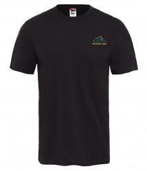 Мъжка тениска M S/S RIDGE TEE TNFBLK/HIGHRSGR