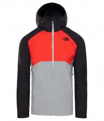 Мъжко яке M STRATOS JACKET MID GRY/FIERY R
