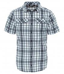Мъжка риза M S/S PINE KNOT SHT ASPHLT GRY PLID