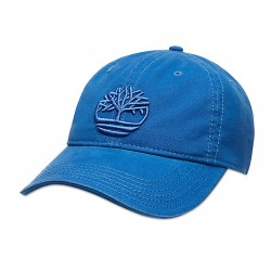 Мъжка шапка Cotton Canvas Baseball Cap for Men in Blue