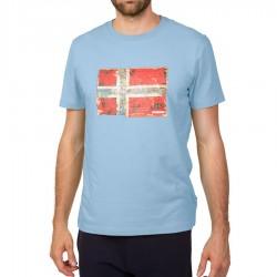 Мъжка тениска SEITEM DUSK LIGHT BLUE