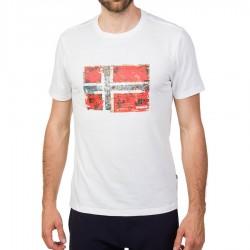 Мъжка тениска SEITEM BRIGHT WHITE