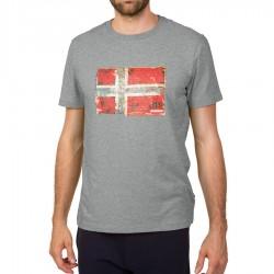 Мъжка тениска SEITEM MED GREY MEL