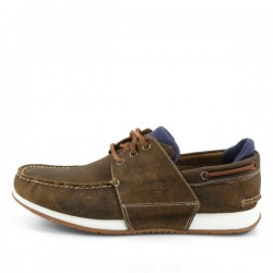 Мъжки мокасини Heger's Bay Boat Shoe for Men in Dark Brown