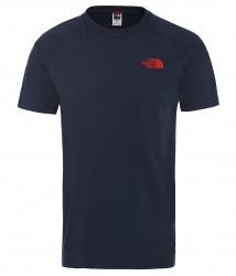 Мъжка тениска M S/S NORTH FACE TEE URBAN NAVY