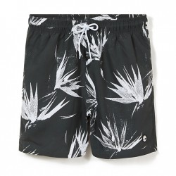 Мъжки бански Sunapee Patterned Leisure Shorts for Men in Dark Green