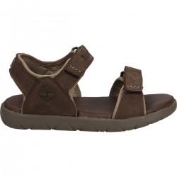 Юношески сандали Nubble Sandal Lthr 2 Dark Brown