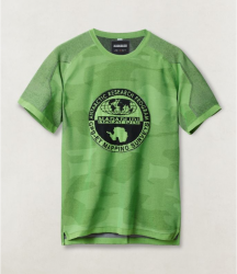 Мъжка тениска ZE-K124 BRIGHT GREEN
