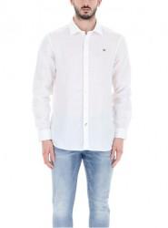 Мъжка риза GERVAS 2 BRIGHTWHITE 002