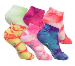 Детски чорапи 6PK GIRLS NON TERRY TIE DYE MULT