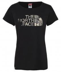 Дамска тениска W HIMALAYAN S/S TEE - EU TNF BLACK