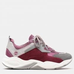 Дамски маратонки Delphiville Leather Sneaker for Women in Purple