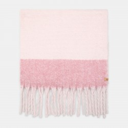 Дамски шал Colourblock Blanket Scarf for Women in Pink