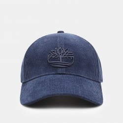 Мъжка шапка Corduroy Baseball Cap for Men in Blue