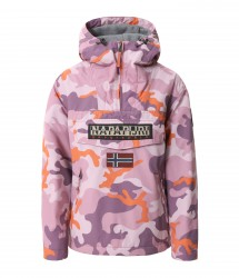 Дамско яке RAINFOREST W P PRINT PINK CAMO